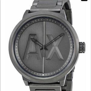 Armani Exchange ATLC Gunmetal Steel Watch Ac1362